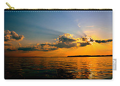 Carry-all Pouch featuring the photograph  Perfect Ending To A Perfect Day by Lisa Wooten