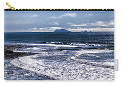 Carry-all Pouch featuring the photograph  Point Loma And Islos Los Coronados by Daniel Hebard