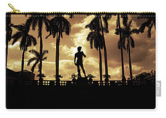 Replica Of The Michelangelo Statue At Ringling Museum Sarasota Florida Carry-all Pouch