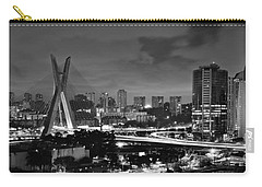 Sao Paulo Iconic Skyline - Cable-stayed Bridge - Ponte Estaiada Carry-all Pouch