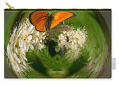 Carry-all Pouch featuring the photograph  Scarce Copper 3 by Jouko Lehto