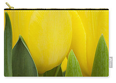Spring Yellow Tulips Carry-all Pouch