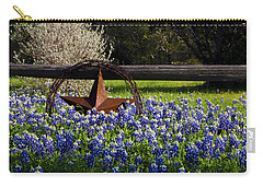Texas Bluebonnets IIi Carry-all Pouch by Greg Reed