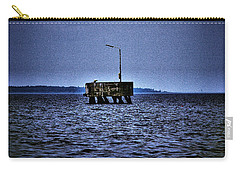 Carry-all Pouch featuring the photograph  The Dock Of Loneliness by Jouko Lehto