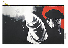 - The Godfather - Carry-all Pouch by Luis Ludzska