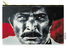 - The Good The Bad And The Ugly - Carry-all Pouch by Luis Ludzska