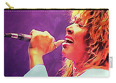 Tina Turner Carry-all Pouch by Sergey Lukashin