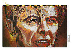 Carry-all Pouch featuring the painting  Tribute To David by Andrzej Szczerski