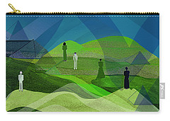 009  Human Figures In Landscape 2017 Carry-all Pouch