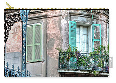 0254 French Quarter 10 - New Orleans Carry-all Pouch
