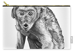 057 Madhula The Monkey Carry-all Pouch by Abbey Noelle