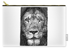 059 - Lorien The Lion Carry-all Pouch by Abbey Noelle
