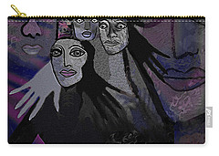 071   The  People Of   Night  A Carry-all Pouch