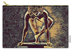 0948s-zak Dancer Balanced On Pedestal In The Style Of Antonio Bravo  Carry-all Pouch
