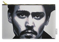 - Johnny - Carry-all Pouch by Luis Ludzska