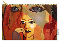 1636 - Quiet Observation 2017 Carry-all Pouch by Irmgard Schoendorf Welch