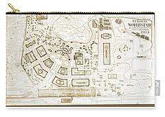 1904 Worlds Fair, Fair Grounds Map Carry-all Pouch