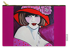 1920's Girl Ella Carry-all Pouch