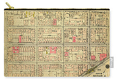 1927 Inwood Map  Carry-all Pouch