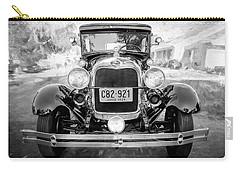 1929 Ford Model A Tudor Police Sedan Bw Carry-all Pouch