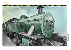 1940's Steam Train Carry-all Pouch