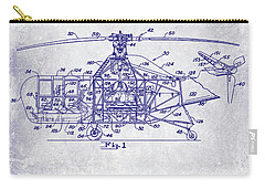 1950 Helicopter Patent Carry-all Pouch