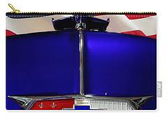 1954 Chevrolet Hood Emblem Carry-all Pouch by Peter Piatt