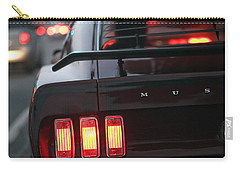 Carry-all Pouch featuring the photograph 1969 Ford Mustang Mach 1 by Gordon Dean II