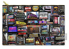 2016 Broadway Fall Collage Carry-all Pouch