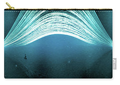 Carry-all Pouch featuring the photograph 2016 In One Exposure. by Will Gudgeon