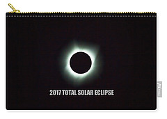 2017 Total Solar Eclipse Carry-all Pouch