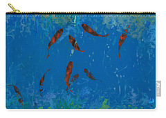 Koi Fish Pond Carry-All Pouches