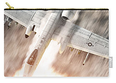A-10 Thunderbolt II Carry-all Pouch by David Collins
