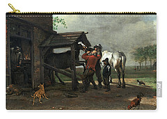 A Farrier's Shop Carry-all Pouch