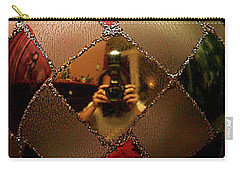 Carry-all Pouch featuring the photograph A Photographer's Christmas Greeting by Trish Mistric