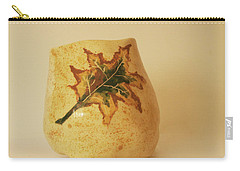 A Pot On A Leaf Carry-all Pouch by Itzhak Richter