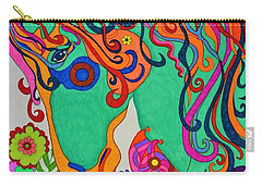A Rainbow Called Romeo Carry-all Pouch by Alison Caltrider
