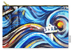 Carry-all Pouch featuring the painting A Ray Of Hope 4 by Harsh Malik