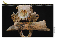 A Taste For Bones Carry-all Pouch by Ronda Broatch
