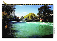 Aare River Carry-all Pouch by Mimulux patricia no No