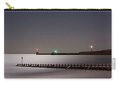 Aberdeen Beach At Night Carry-all Pouch
