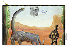 Carry-all Pouch featuring the painting Abiogenesis by Ryan Demaree