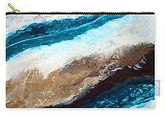 Abstract Beach 2 Carry-all Pouch