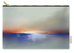 Abstract Beach Sunrise  Carry-all Pouch by Anthony Fishburne