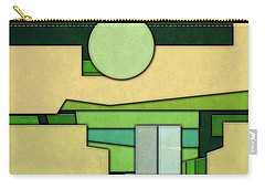 Abstract Cubist Carry-all Pouch by Gary Grayson