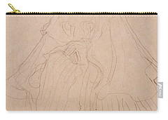 Adele Bloch Bauer Carry-all Pouch by Gustav Klimt