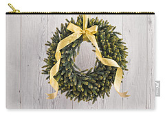 Carry-all Pouch featuring the photograph Advents Wreath by Ulrich Schade