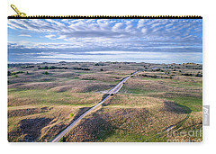 aerial view of Nebraska Sandhills  Carry-all Pouch