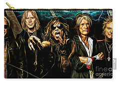 Aerosmith Collection Carry-all Pouch by Marvin Blaine
