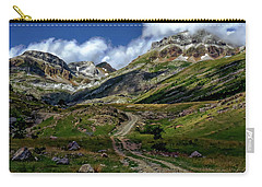 Aisa Valley Scenic Carry-all Pouch by Anthony Dezenzio